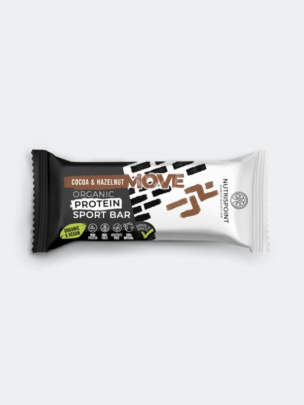 MOVE proteinska ploščica - kakav in lešniki